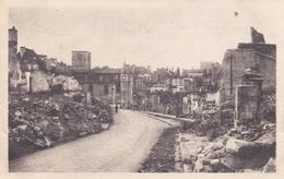 CHATILLON SUR SEINE 21 LA RUE DE L'ISLE 15 JUIN 1940 BELLE CARTE RARE !!! - Chatillon Sur Seine