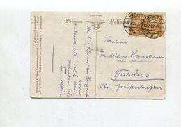 """Deutsches Reich / 1922 / Mi. 114 EF A. AK """"Ein Sonnenbad"""" O PYRITZ (01864) - Deutschland"""