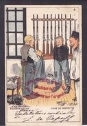 NN1312 - KAZERNE LEVEN - Voor De Inspectie - Militaria - Humour - Nederlands - Pays Bas - Künstlerkarten