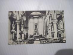CPA Charleroi Int De L'église Du Faubourg 19.. T.B.E. - Charleroi