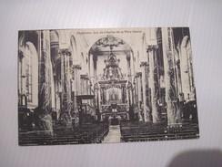 CPA Charleroi Int De L'église De La Ville Haute 19.. T.B.E. - Charleroi