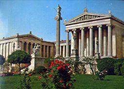 Athenes - The Academy - Formato Grande Viaggiata – E 3 - Grecia