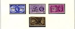 BAHRAIN UPU 1949  #68 - 71  MNH - Oman