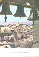 CLOCHES DE NOËL A BETHLEEM.  (scan Verso) - Palestine