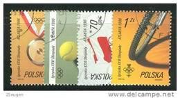 POLAND 1996 MICHEL No: 3605-3608 USED  /zx/ - 1944-.... Republic
