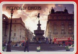 Piccadilly Circus - London - Formato Grande Viaggiata – E 3 - Piccadilly Circus