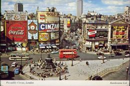 Piccadilly Circus - London - Klv82 - Formato Grande Viaggiata – E 3 - Piccadilly Circus