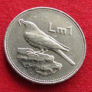 Malta 1 Lira 1991 KM# 99 - Malta