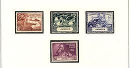 JAMAICA UPU 1949  #142 - 145 MNH - Jamaica (...-1961)