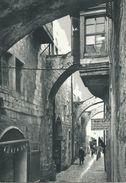 Via Dolorosa Jerusalem  - Jordan.  (scan Verso) - Jordanie