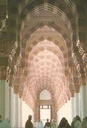 INTERIOR VIEW OF THE PROPHET'S MOSQUE IN MEDINA.  (scan Verso) - Arabie Saoudite