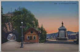 Le Col-France Et La Douane - Photo: Societe Graphique - NE Neuchâtel
