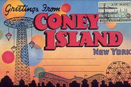 New York - Coney Island - Formato Grande Non Viaggiata – E 3 - Cartoline