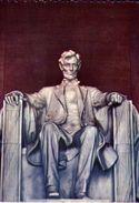 Lincoln Statue - Formato Grande Non Viaggiata – E 3 - Cartoline