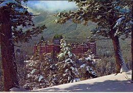 Canadian Rockies - Banff Springs Hotel - Formato Grande Viaggiata – E 3 - Cartoline