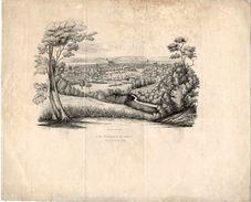 Fin XVIIIe Ou Début XIXe . Vue Générale De NANCY Lithographie De L. CHRISTOPHE -- J. CAYON Del - Estampes & Gravures