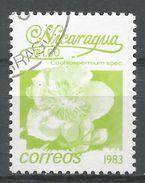 Nicaragua 1983. Scott #1212 (U) Cochlospermum Spec, Fleurs, Flowers - Nicaragua