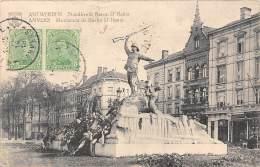 ANTWERPEN - Standbeeld Baron D'Hanis - Antwerpen