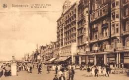 BLANKENBERGHE - Les Hôtels Et La Digue - Blankenberge
