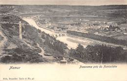 NAMUR - Panorama Pris Du Funiculaire - Namen