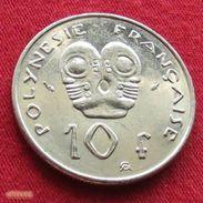 French Polynesia 10 Francs 1991 KM# 8  Polynesie Polinesia - French Polynesia