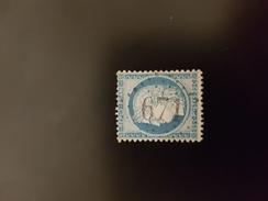 N°60 A, 25 Cts Bleu, GC 671, Buis Les Baronnies, Drôme. - Storia Postale (Francobolli Sciolti)