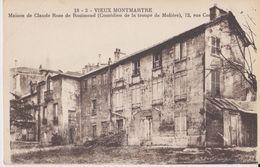 Vieux Montmartre - Maison De Claude Roze De Rosimond - 12 Rue Cortot - ES Paris - Arrondissement: 18
