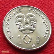 French Polynesia 10 Francs 2004 KM# 8  Polynesie Polinesia - French Polynesia