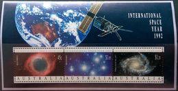 Australia, 1992, Mi. Bl. 14, International Space Year, MNH - Space