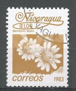 Nicaragua 1983. Scott #1218 (U) Senecio Spec, Fleurs, Flowers - Nicaragua
