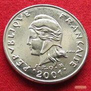 French Polynesia 10 Francs 2001 KM# 8  Polynesie Polinesia - French Polynesia