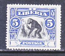 LIBERIA  103  *   CHIMPANZEE - Chimpanzees