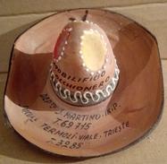 Cappello - Portacenere - Pubblicitario In Terra Cotta - Non Classificati