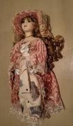 Bambola In Porcellana - Rosella - Collezione Manolo - Dolls