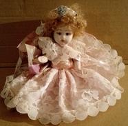 Bambola In Porcellana - Da Collezione - Dolls