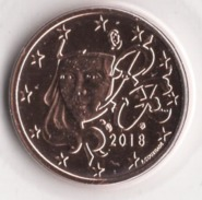 ** 2 CENT EURO 2018 FRANCE PIECE NEUVE ** - France