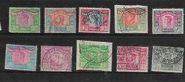 South Africa, George VI Revenue, 10  Values Between 3d - £2 Used - Zuid-Afrika (...-1961)
