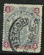 Rhodesia / B.S.A.Co., 1897,  4d Arms  Used - Rhodésie Du Sud (...-1964)