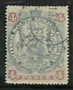 Rhodesia / B.S.A.Co., 1897,  4d Arms  Used - Southern Rhodesia (...-1964)