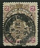 Rhodesia / B.S.A.Co., 1897,  2d Arms  Used - Southern Rhodesia (...-1964)