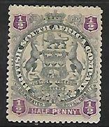 Rhodesia / B.S.A.Co., 1897,  1/2d Arms MH * - Southern Rhodesia (...-1964)