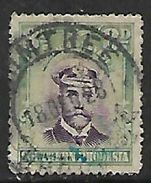 Rhodesia 1924, GVR Admiral, 8d, Used PLUMTREE 18 DE 28 C.d.s. Folded, Colour Run - Rhodésie Du Sud (...-1964)