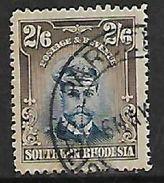 Rhodesia 1924, GVR Admiral, 2/6, Used - Rhodésie Du Sud (...-1964)
