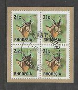 Rhodesia CHATSWORTH 3 OC 77, Postmark On Fragment. - Rhodesia (1964-1980)