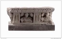 Gandharan  Grey Schist Panel Fragment - Archéologie
