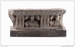 Gandharan  Grey Schist Panel Fragment - Archaeology