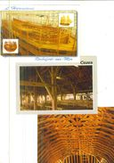 CHARPENTES /  Lot De 44 Cartes Postales Modernes Neuves - Cartes Postales