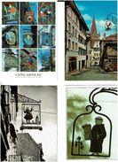 ENSEIGNES /  Lot De 42 Cartes Postales Modernes Neuves - Cartes Postales