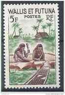 1957-61 WALLIS FUTUNA 157A** Fabrication D'un Tapa, Issu De Série - Wallis-Et-Futuna