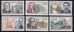 France 1966 N°Y.T. : 1470 à 1475 ** - France